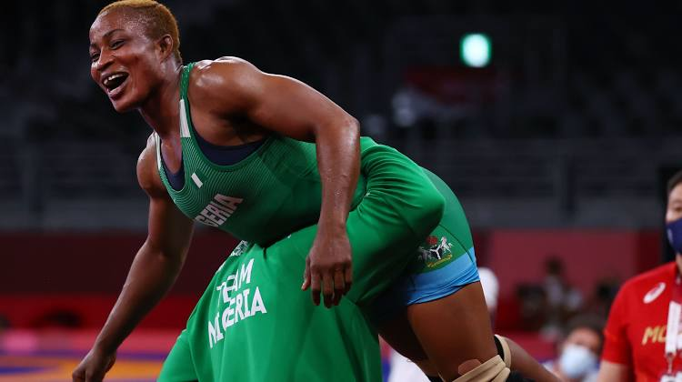 Tokyo Olympics: Nigerian wrestler Blessing Oborududu cruises into finals, set to win Nigeria's first medal in Tokyo