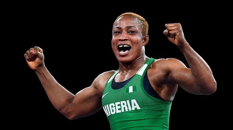 Blessing Oborududu set to win Nigeria's first Medal in Tokyo