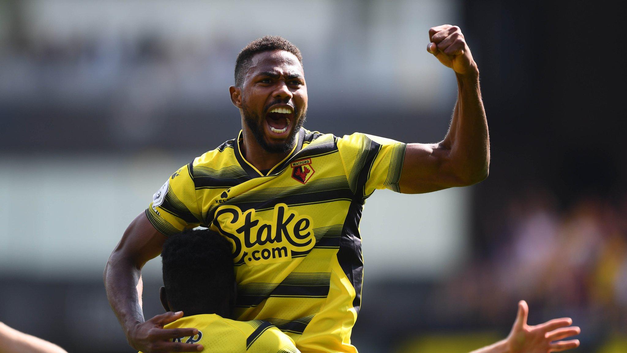 Emmanuel Dennis makes Premier League history on his Watford debut