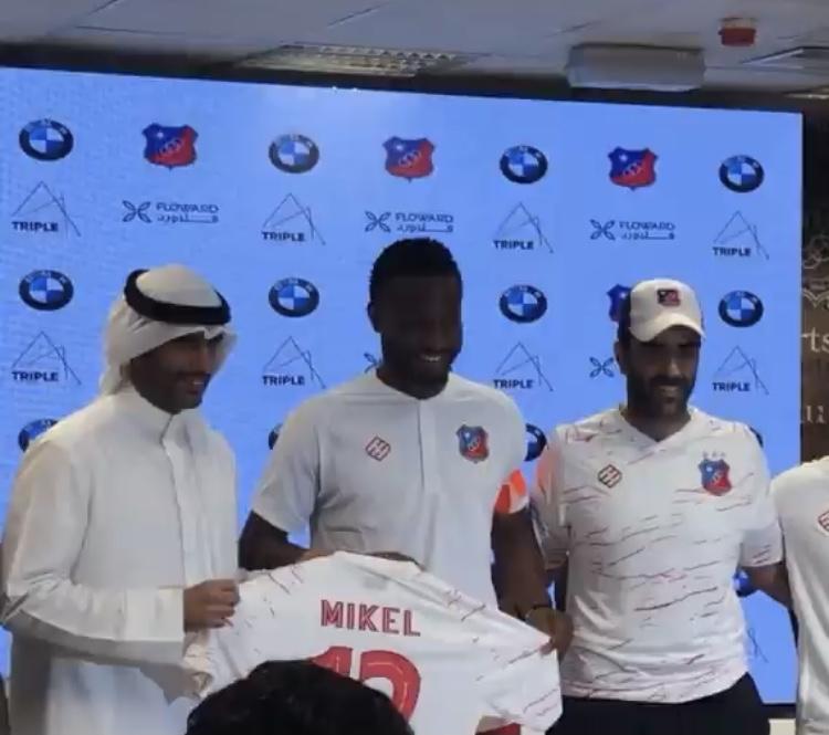 Kuwait Sporting Club Unveils John Mikel Obi