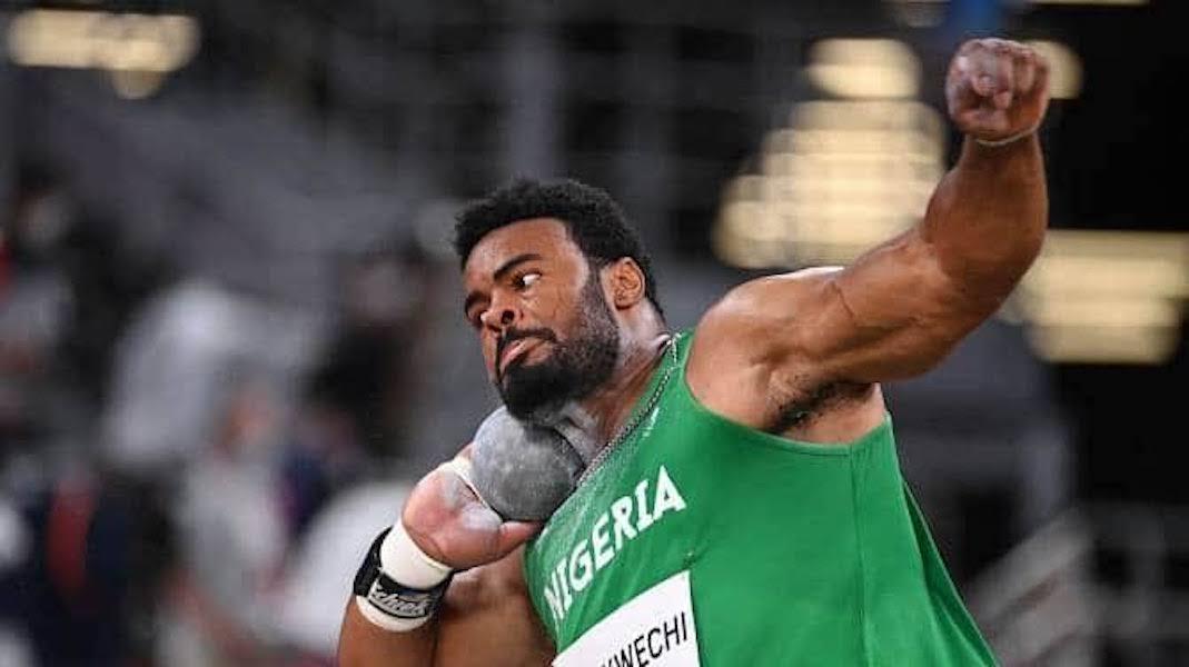 Tokyo Olympics: Chukwuebuka Enekwechi unable to make podium finish in the Men's Shot Put Final