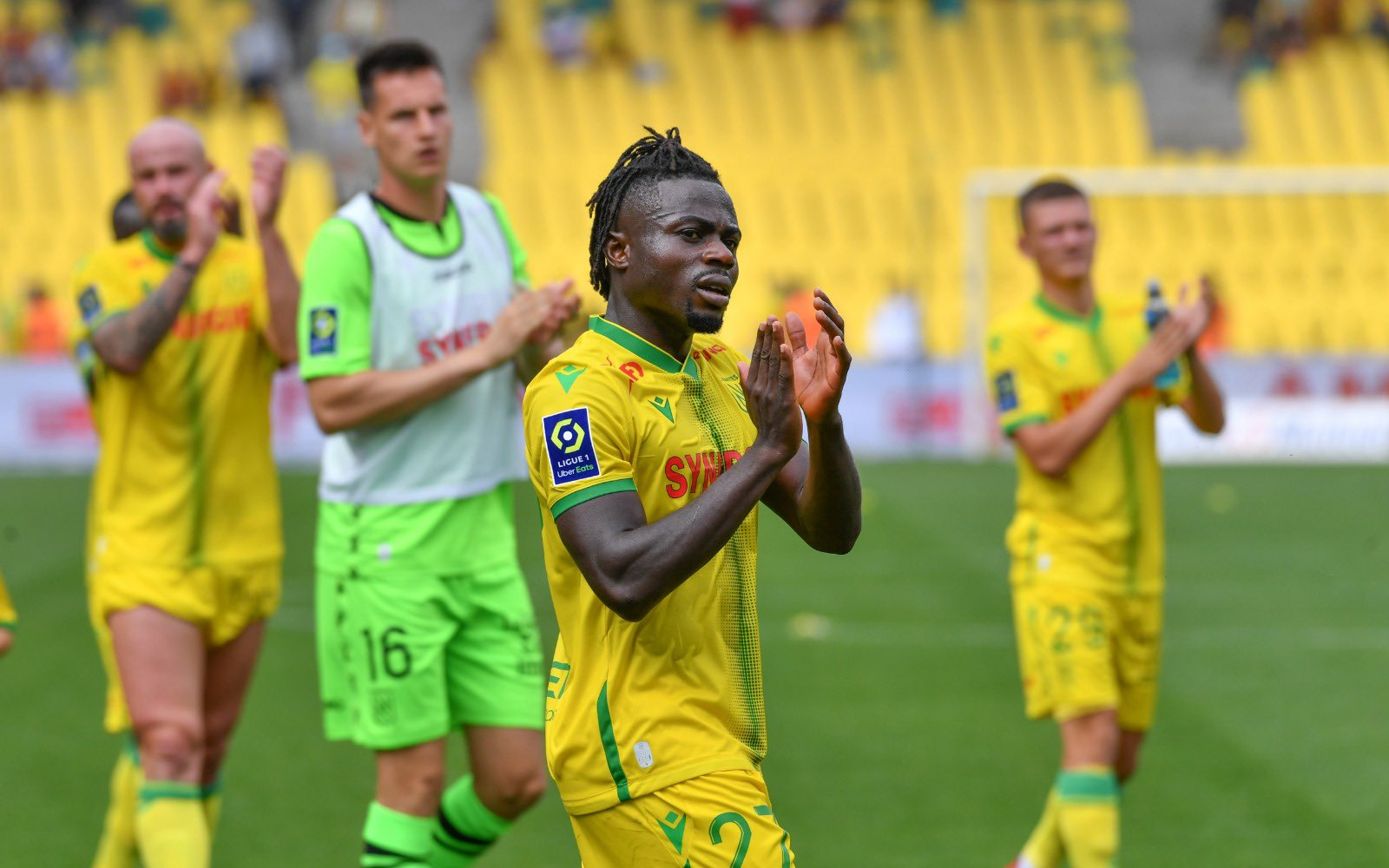 Simon Moses leads French Ligue One assists chart