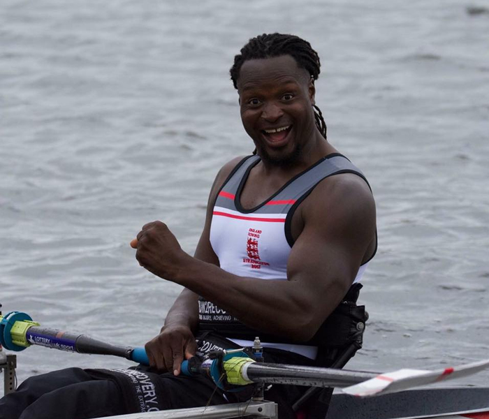 Paralympics: Ijomah Kingsley hopes to qualify for Rowing finals