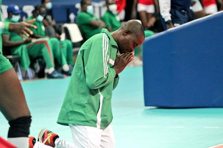 2021 V/ball Nations Cup: Nigeria's coach targets victory against the hosts Rwanda