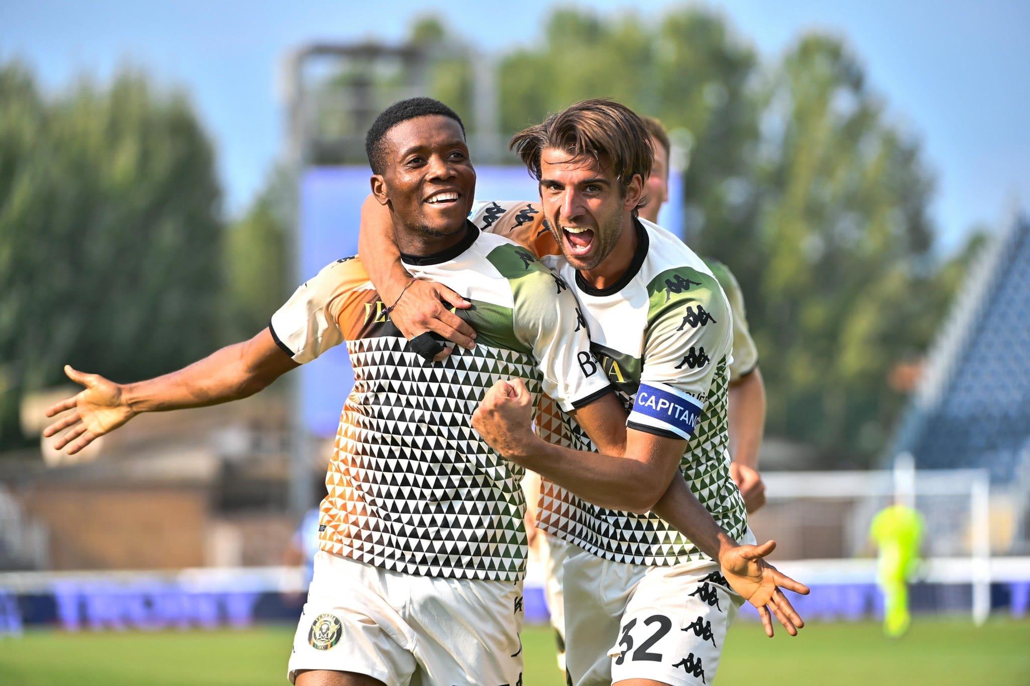 David Okereke guides Venezia to first league win of the season