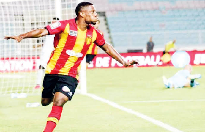 Anayo Iwuala vows to score more goals for Espérance