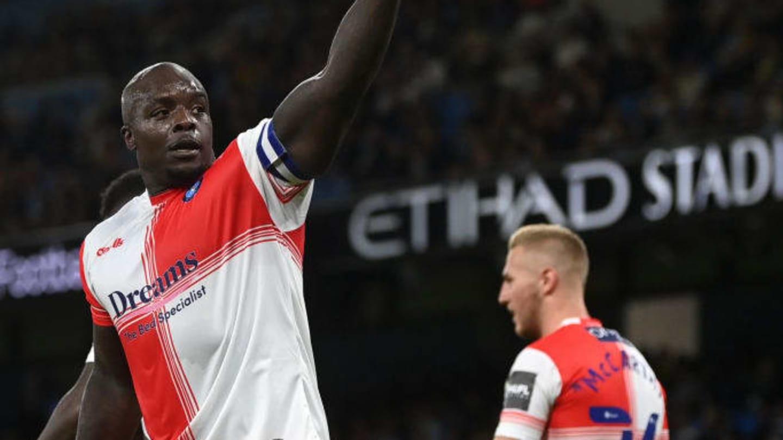 Guardiola hails Wycombe striker Adebayo Akinfenwa