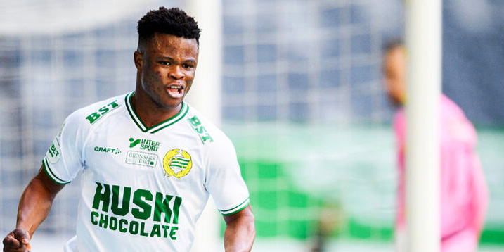 Nigerian youngster Amoo sinks IFK Goteborg with 6th goal of the season