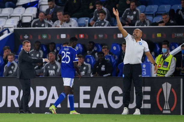 Brendan Rodgers slams referee over Ndidi's red card incident