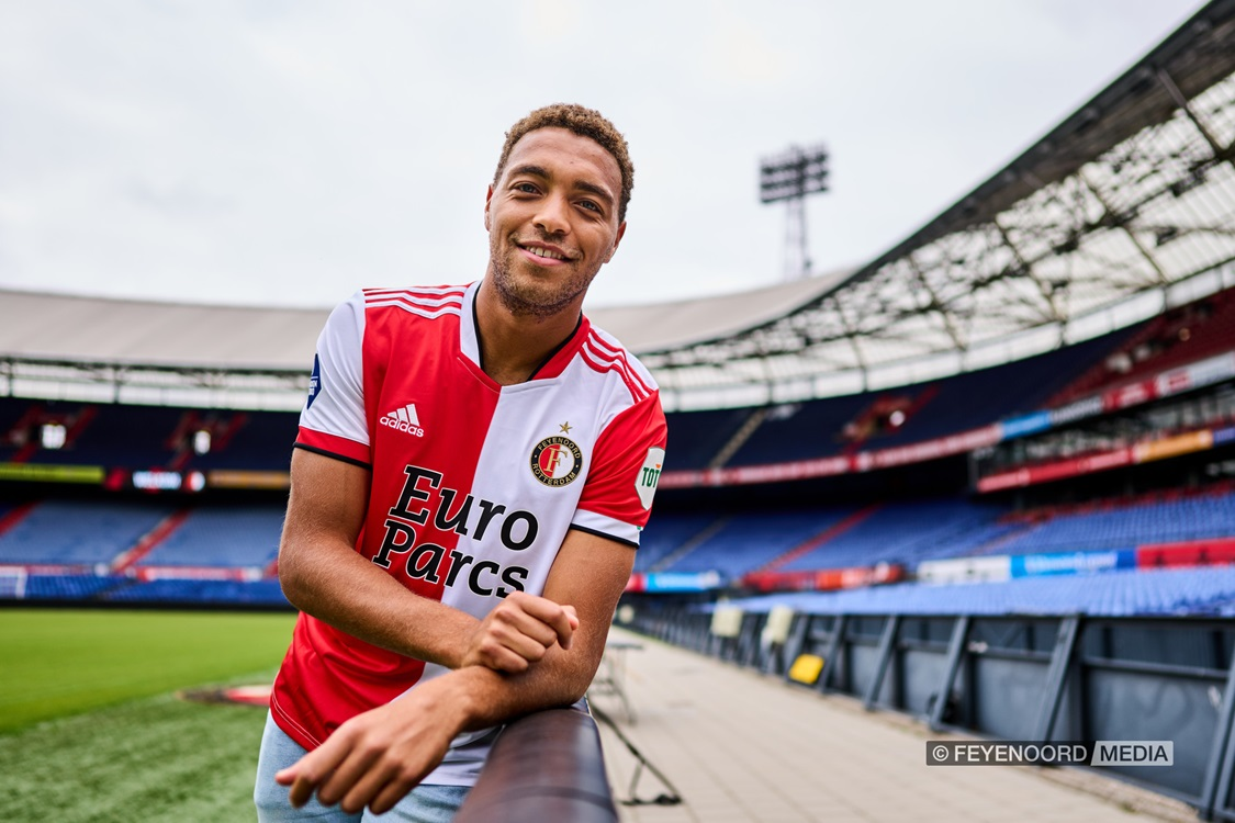 Cyriel Dessers debuts for Feyenoord in UEFA Conference League
