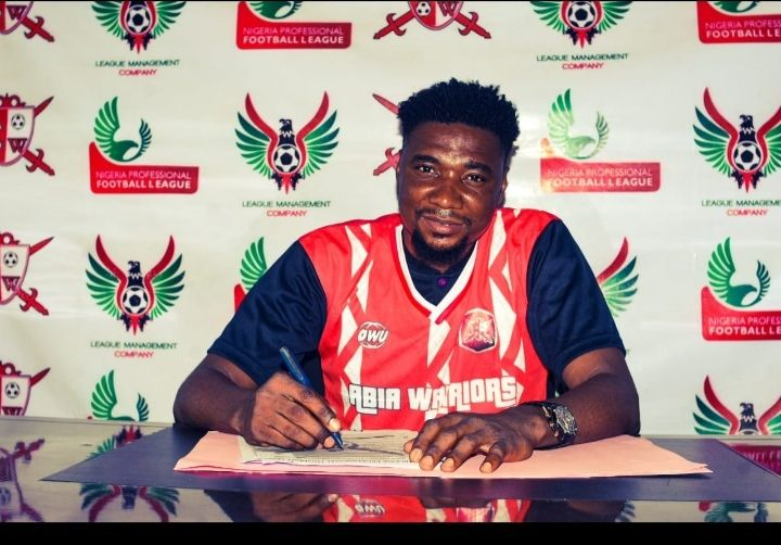Okiemute Odah joins Abia Warriors from Rivers United